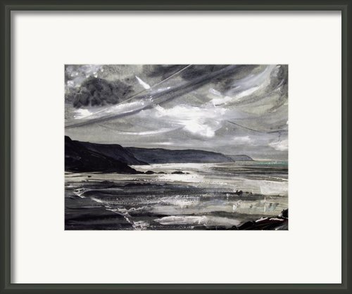 Winter Light Framed Print By Keran Sunaski Gilmore