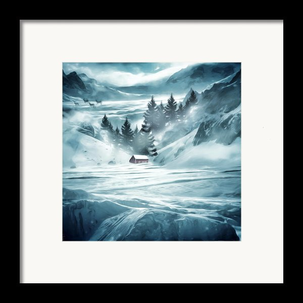Winter Seclusion Framed Print By Lourry Legarde