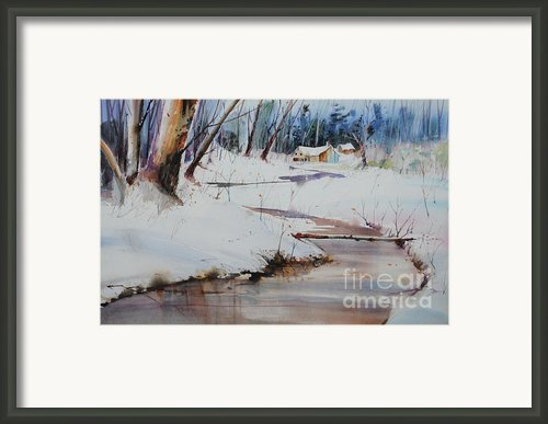 Winter Wonders Framed Print By P Anthony Visco