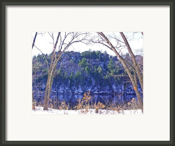 Wisconsin River 3 Framed Print By Dave Dresser