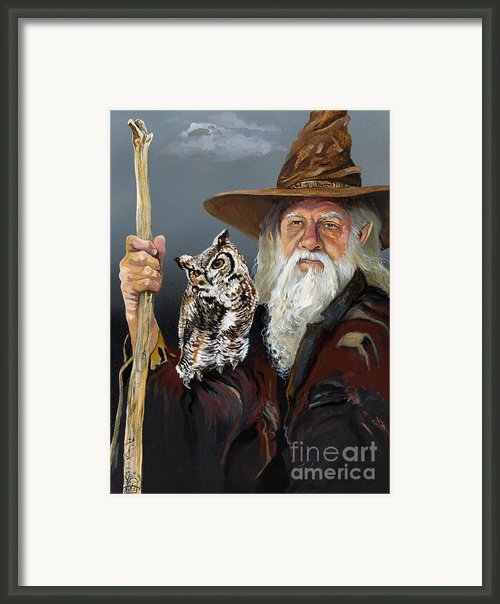 Wise Counsel Framed Print By J W Baker