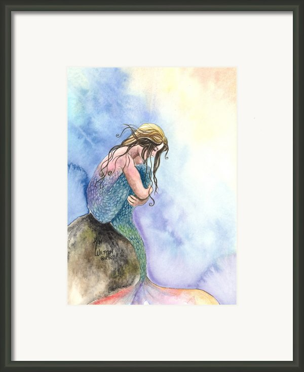 Wishful Thinking Framed Print By Kim Whitton