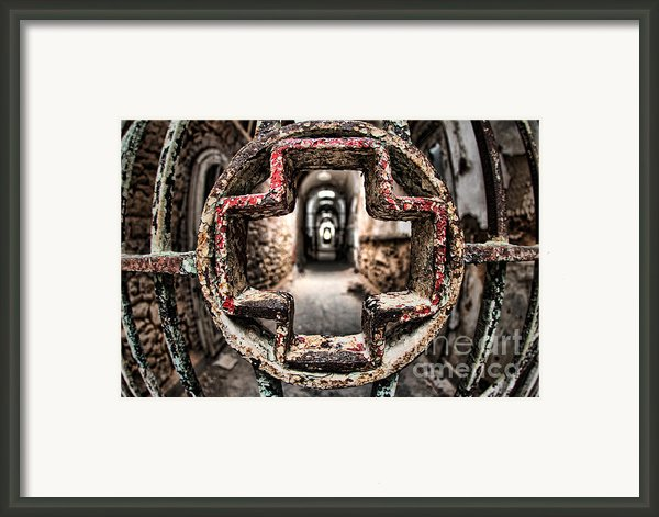 Without Salvation Framed Print By Andrew Paranavitana