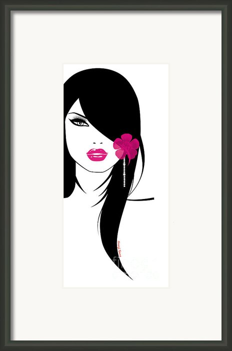 Woman 6 Framed Print By Cheryl Young
