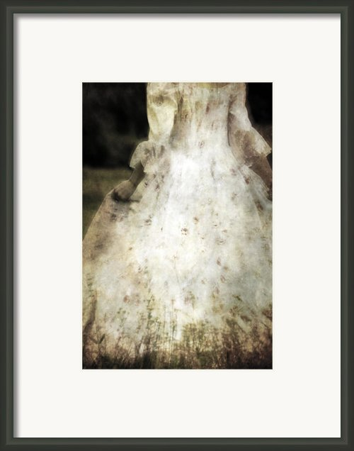 Woman In A Meadow Framed Print By Joana Kruse
