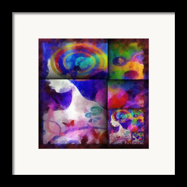 Wondering 1 Framed Print By Angelina Vick
