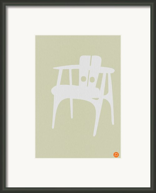 Wooden Chair Framed Print By Irina  March