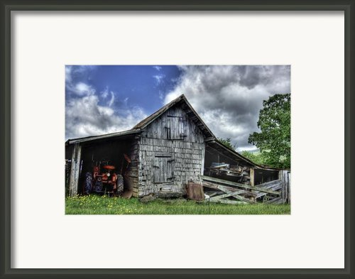 Work Is All Done Framed Print By Pete Hellmann