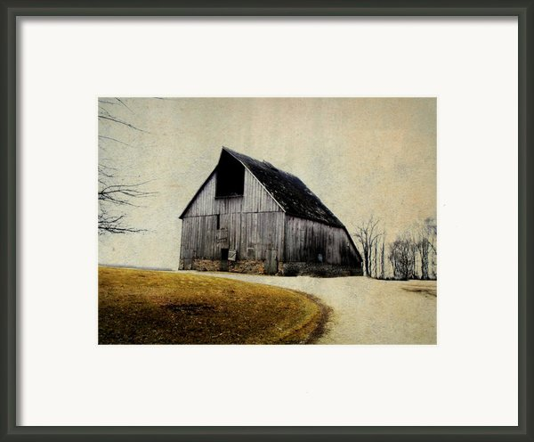 Work Wanted Framed Print By Julie Hamilton
