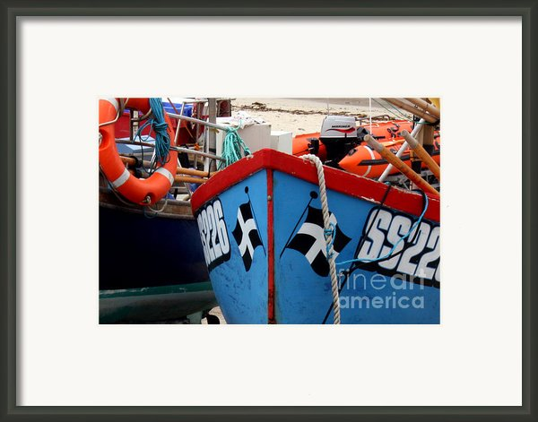 Working Harbour Framed Print By Terri  Waters