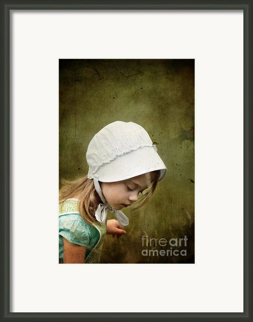 Working In The Fields Framed Print By Stephanie Frey