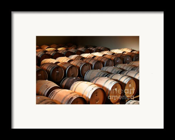 World-class Wine Is Made In California Framed Print By Christine Till