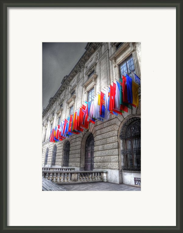 World Flags Framed Print By Barry R Jones Jr