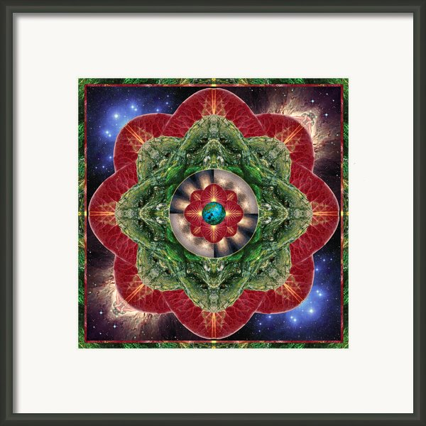 World-healer Framed Print By Bell And Todd