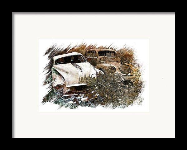 Wreck 3 Framed Print By Mauro Celotti