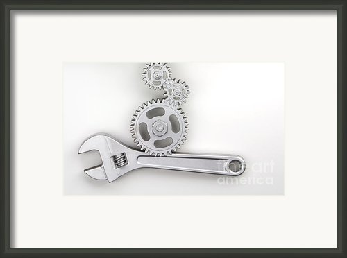 Wrench Framed Print By Blink Images