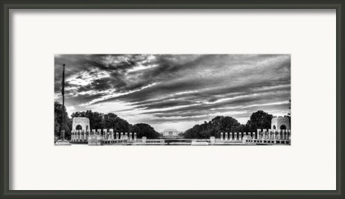 Ww Two Memorial Framed Print By Jc Findley