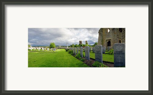 Ww2 Raf Dead Framed Print By Jan Faul