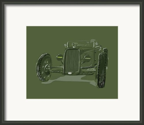 Ww2 Rod Framed Print By Jeremy Lacy