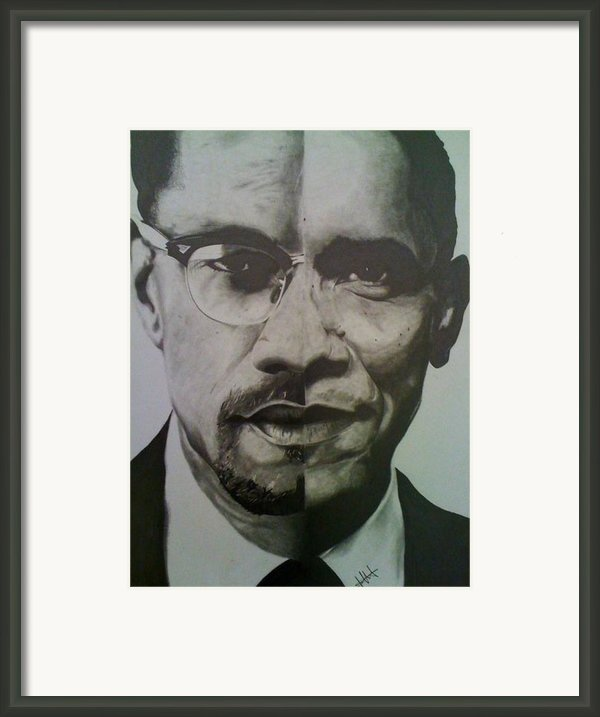 Xobama Framed Print By Jane Nwagbo