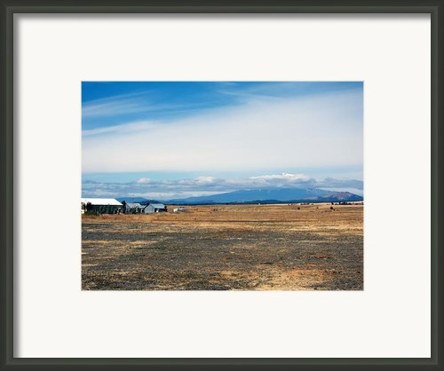 Yakima Valley Framed Print By Tim Perry