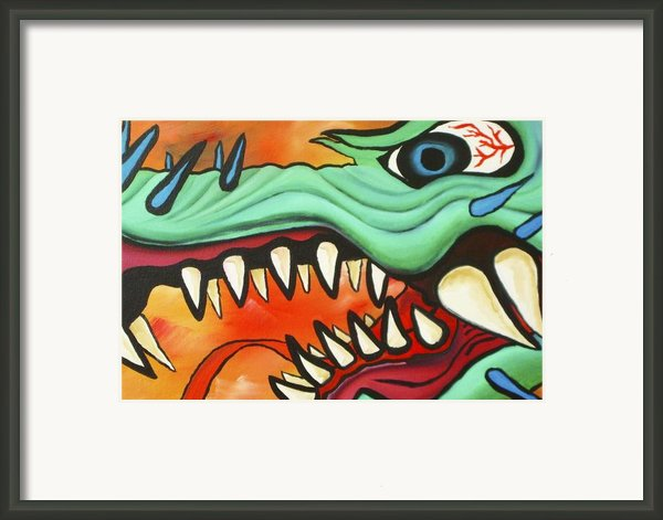 Year Of The Dragon Framed Print By Joseph Palotas
