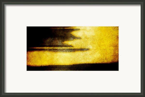 Yellow Framed Print By Brett Pfister