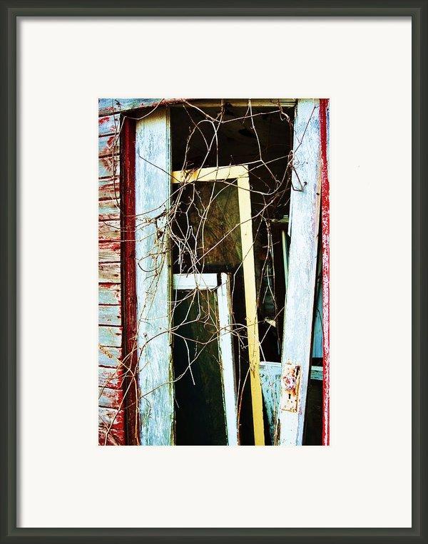 Yellow Door Framed Print By Todd Sherlock