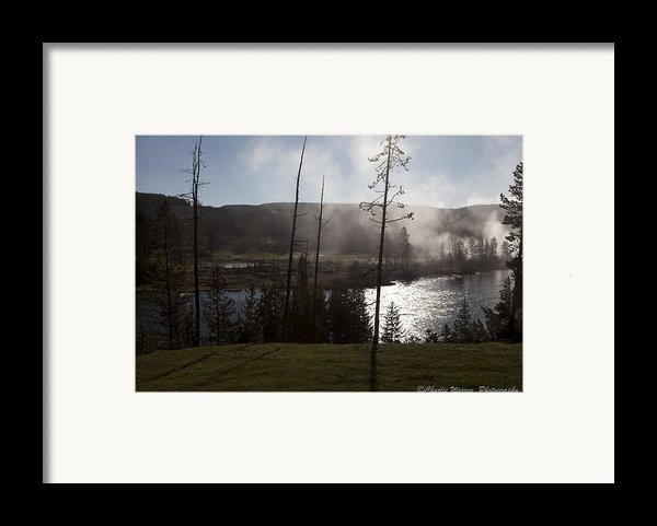 Yellowstone Morning Framed Print By Charles Warren