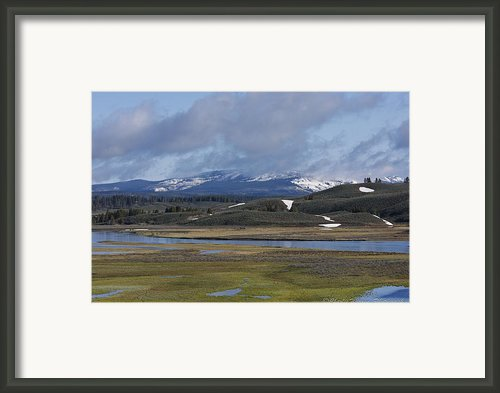 Yellowstone Vista 10 Framed Print By Charles Warren