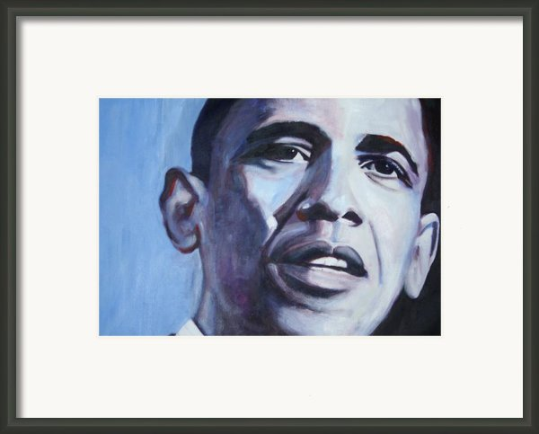 Yes We Can Framed Print By Fiona Jack