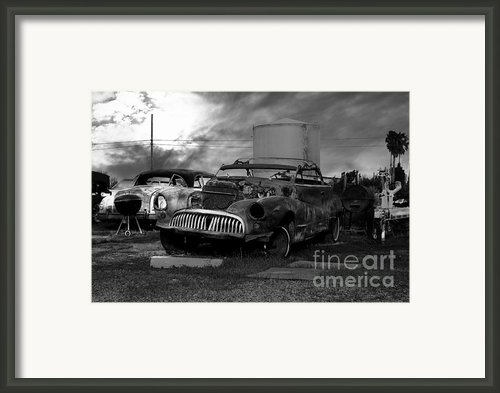 Yesterday Came Early . Tomorrow Is Almost Over 2 . Black And White Framed Print By Wingsdomain Art And Photography
