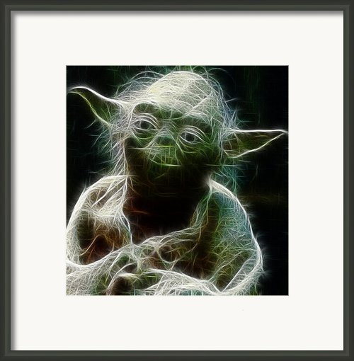 Yoda Framed Print By Paul Ward