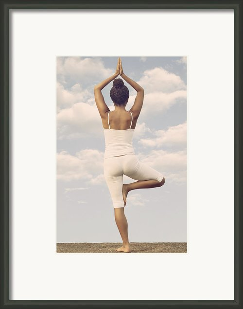 Yoga Framed Print By Joana Kruse