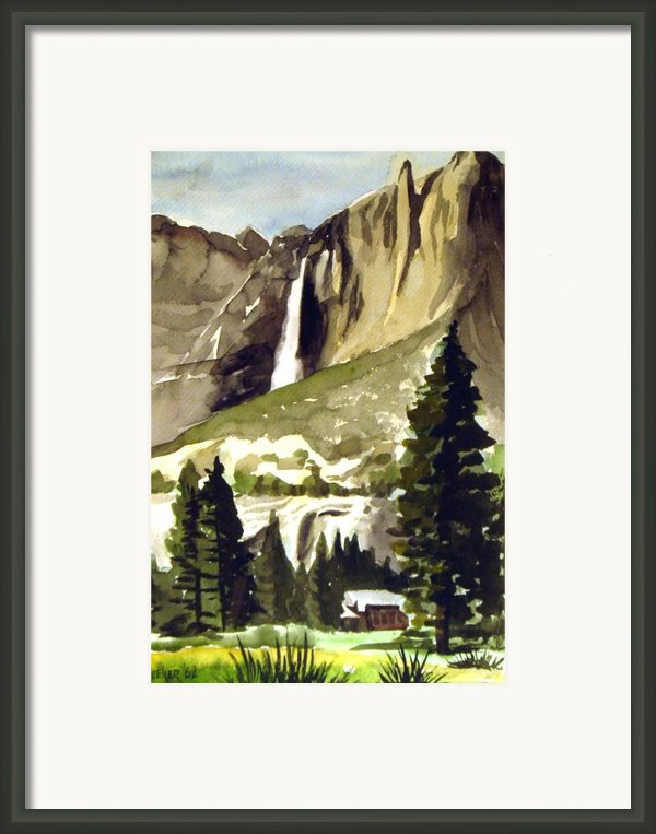 Yosemite Iii Framed Print By Bill Meeker