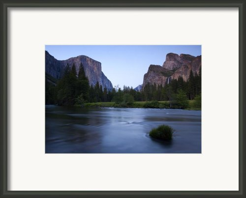 Yosemite Twilight Framed Print By Mike  Dawson