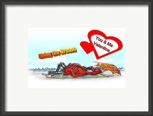 You And Me Valentine Framed Print By Carol Allen Anfinsen