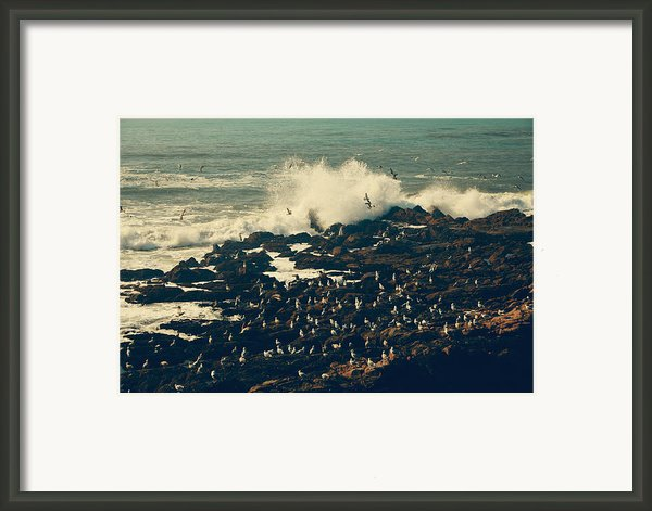 You Came Crashing Into My Heart Framed Print By Laurie Search
