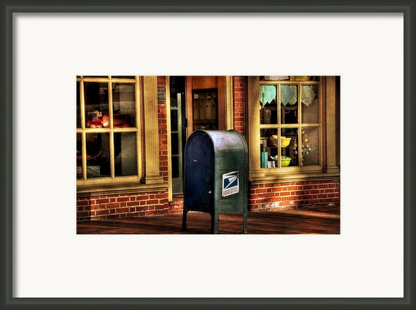 You Got Mail Framed Print By Todd Hostetter