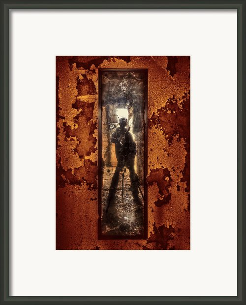 You Shot A Hole In My Soul Framed Print By Evelina Kremsdorf