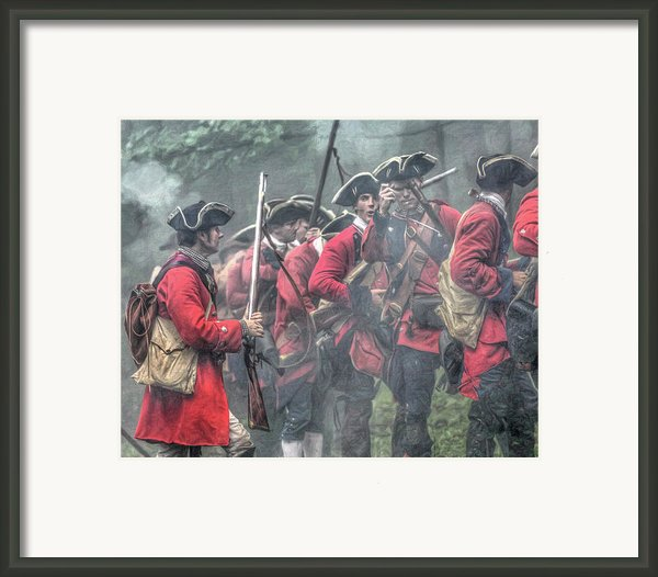 Young Lions French And Indian War  Framed Print By Randy Steele