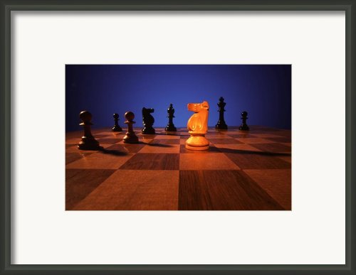 Your Move Framed Print By Gerard Fritz