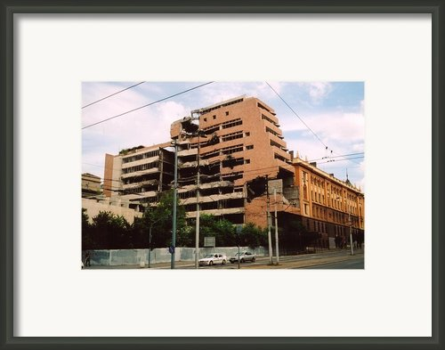 Yugoslavian Army General Headquarters Framed Print By Everett
