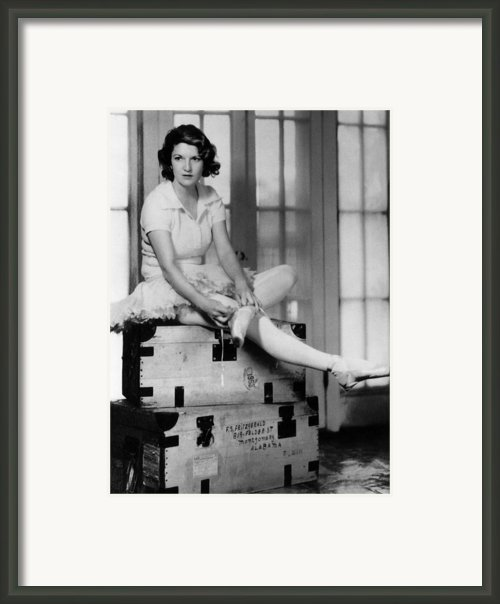 Zelda Fitgerald, 1931 Framed Print By Everett