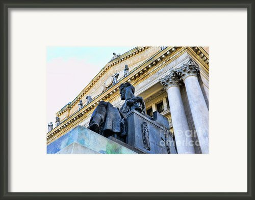 Zeus  Framed Print By Paul Ward