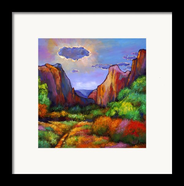 Zion Dreams Framed Print By Johnathan Harris