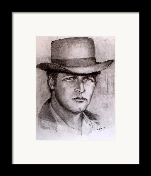 Butch Cassidy Framed Print By Jack Skinner