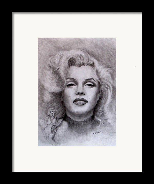 Marilyn Framed Print By Jack Skinner