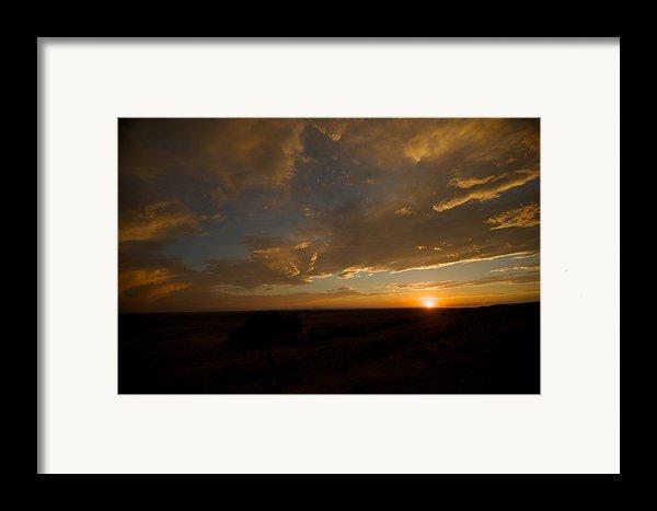 Badlands Sunset Framed Print By Chris  Brewington Photography Llc