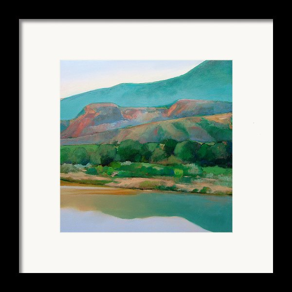 Chama River Framed Print By Cap Pannell